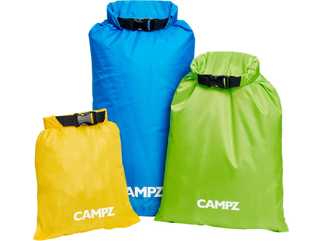 CAMPZ Fun Kuivapussit 3:n sarja, multicolor